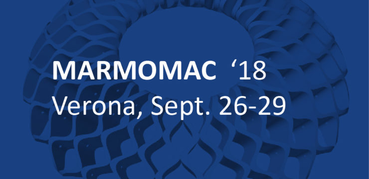 Marmomac 2018, hall 4, stand F4, 26-29 settembre 2018